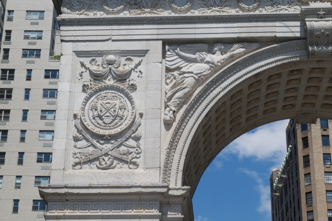 Details on the arch