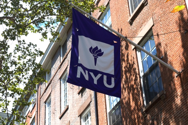 Washington Square Park doubles as an academic quad for NYU students.