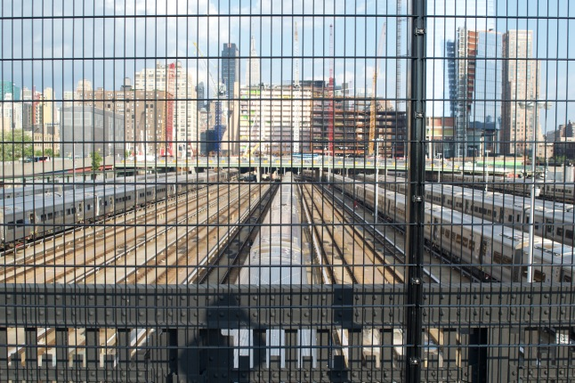 The end of the line at Hudson Yards
