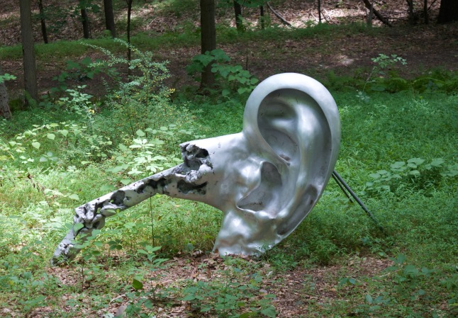 """Ear"" by Tomio Miki. I think it belonged to a giant."